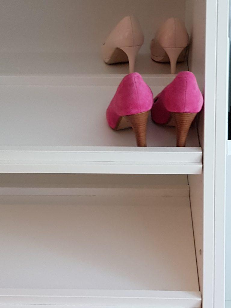 Hyller til sko